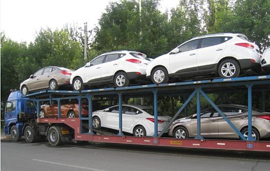 上海到成都托运一台小轿车案例